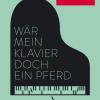 """Literatur-Altonale: Lesung & Konzert """"Wär mein Klavier doch ein Pferd"""" Vorhang auf für Erzählerinnen aus den Niederlanden!"""