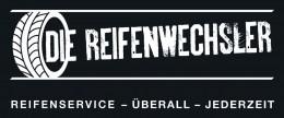 DIE REIFENWECHSLER-Logo_mit Claim white-black FINAL